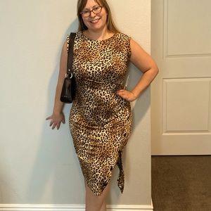 Emma & Michele Leopard print dress NEW!